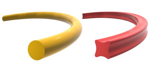 1986 Première ligne de production et fabrication de fils standards.